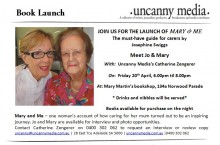Mary & Me book launch invitation